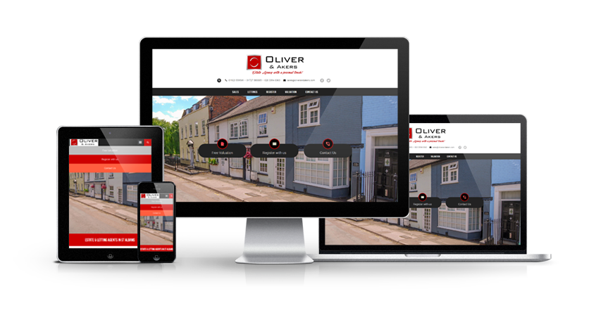 Oliver & Akers - New Estate Agent Website Launched