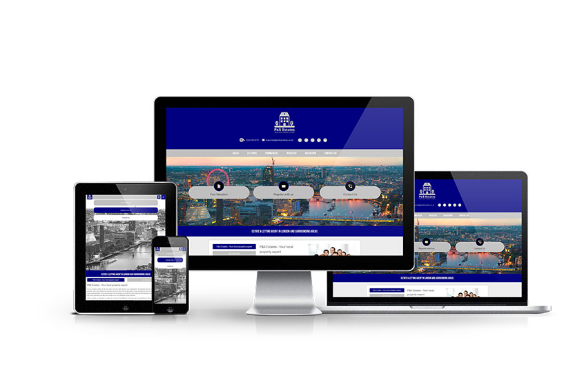 P and S Estates - New Estate Agent Website Launched