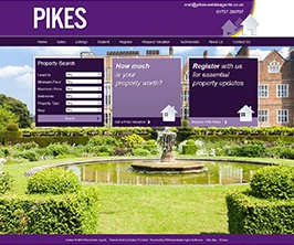 Pro Web Site - www.pikes-estateagents.co.uk/