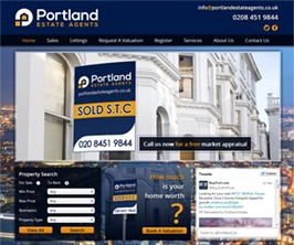 Pro Web Site - www.portlandestateagents.co.uk/