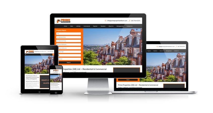 Prime Properties Kilburn - New Estate Agent Website Launched