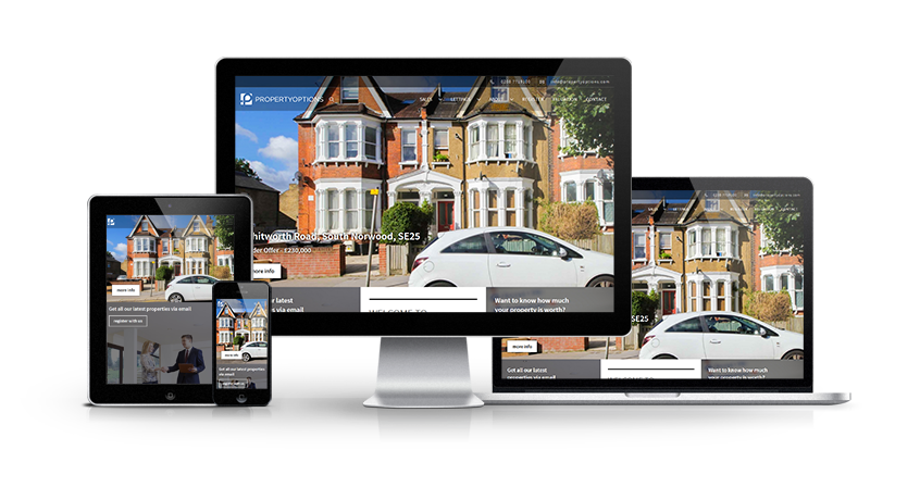 Property Options - New Estate Agent Website Launched
