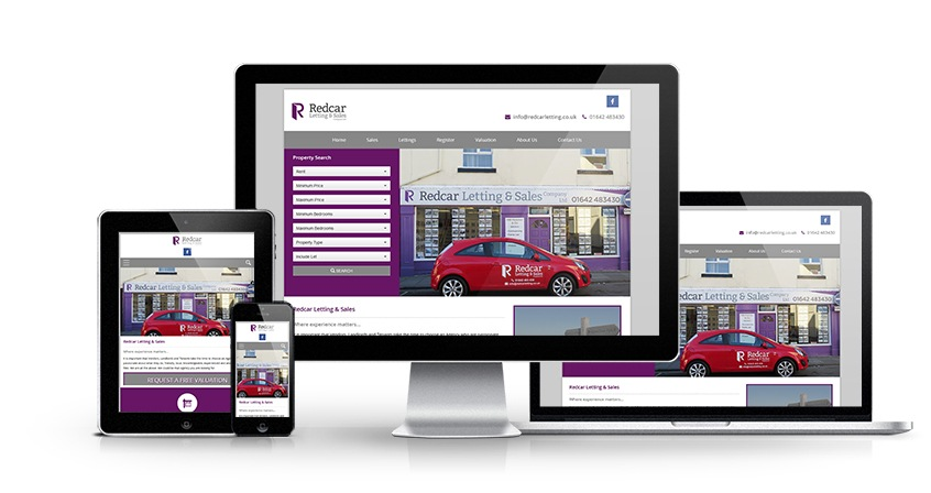 Redcar Letting and Sales - New Estate Agent Website Launched
