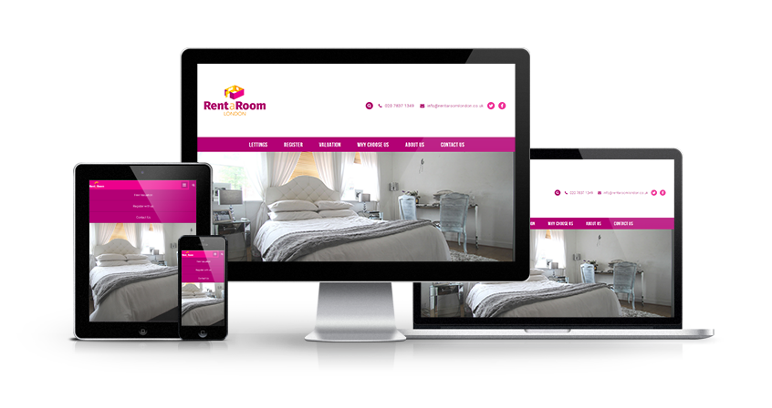 Rent A Room - New Room Let Website Launched