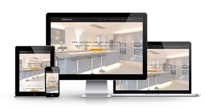 Osbornes - New Estate Agent Website Launched