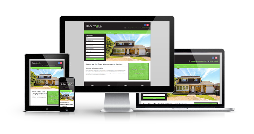 Roberto & Co - New Estate Agent Website Launched