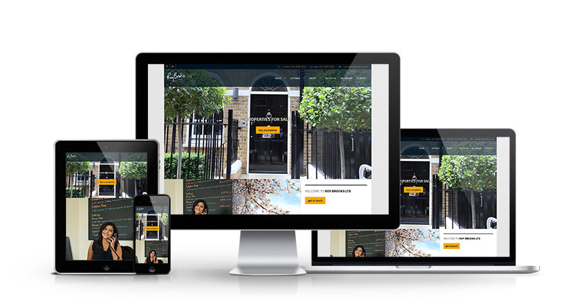 Roy Brooks - New Estate Agent Website Launched