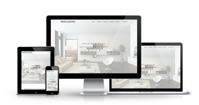 Royce Mayfair - New Estate Agent Website Launched