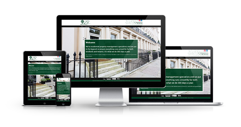 72 Property Management - New Estate Agent Website Launched