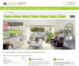 Bespoke Web Site - www.seymour-green.co.uk/