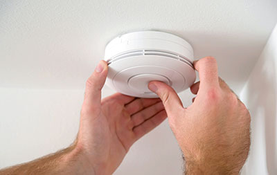 Installation of smoke alarms