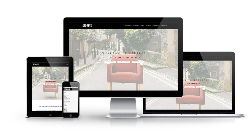 Storeys - New Estate Agent Website Launched