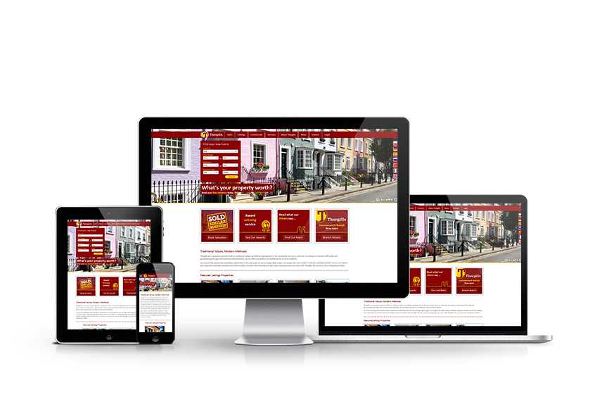 Thorgills - New Estate Agent Website Launched