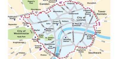 New ultra low emission zone in central London