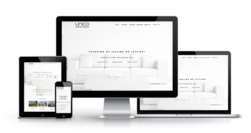 Unico Property Group - New Estate Agent Website Launched