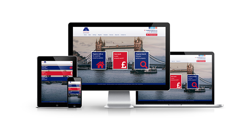 Vantage - New Estate Agent Website Launched