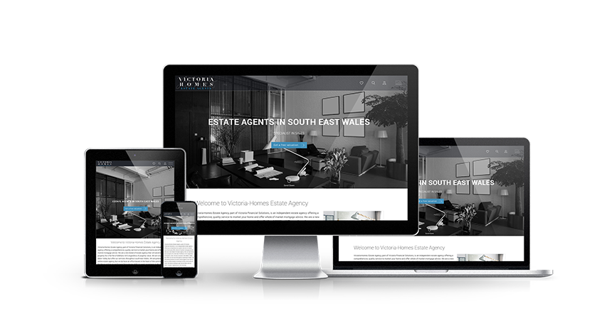 Victoria Homes - New Estate Agent Website Launched