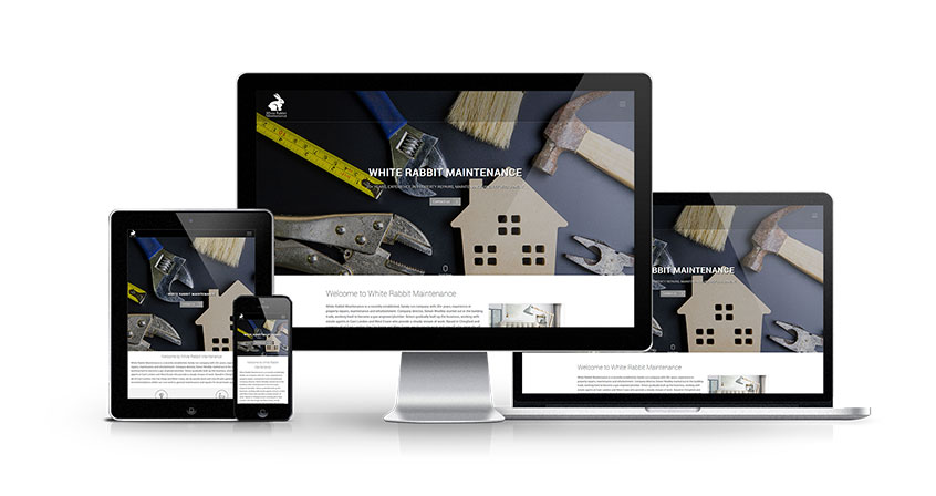 White Rabbit Maintenance - New Estate Agent Website Launched