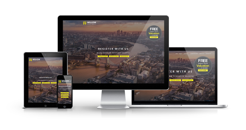 Willow Estate Agents - New Estate Agent Website Launched