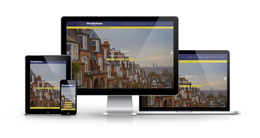 Wonderlease - New Estate Agent Website Launched